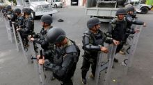 Mexico marines kill eight suspected gangsters in Mexico City
