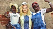 Madonna mostra filhas cantando funk em português