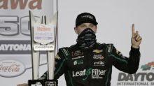 Haley wins at Daytona after teammates crash on final lap