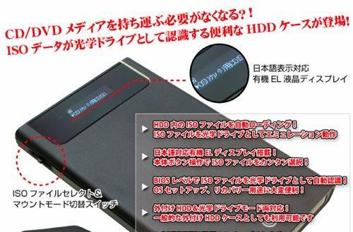 UMAzone UMA-ISO drive enclosure takes the sting out of mounting disk images