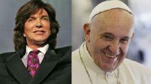 Camilo Sesto canta con el papa Francisco