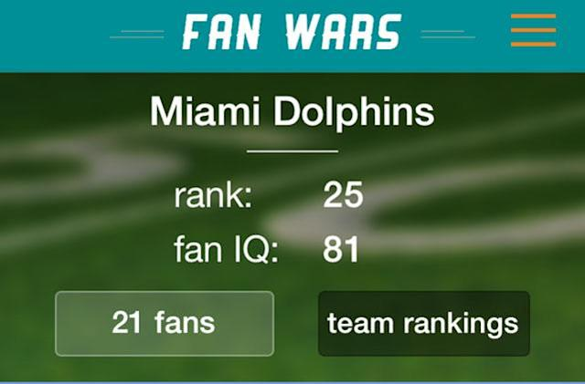 Football fans battle it out with Fans Wars-Pro Football Edition