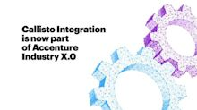 Accenture Acquires Callisto Integration to Help Clients Make Manufacturing More Efficient and Flexible