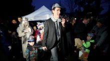 Canada's Halloween is not canceled, but a hockey stick could come in handy