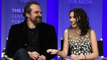 David Harbour: Millie Bobby Brown and I argue 'like father-daughter' on 'Stranger Things' set