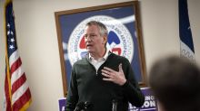 New York Mayor Bill de Blasio makes his case for unapologetic progressivism in Iowa