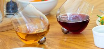 Wineglasses that don't spill? Yes, they exist