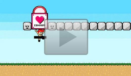 PSA uses 8-bit sprites to teach gamers about safe sex