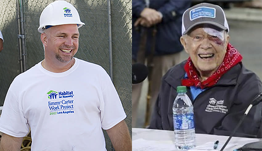 "Garth Brooks praises Jimmy Carter's humanitarian legacy: ""Nobody cares about 'Republican' or 'Democrat' in heaven"""