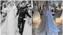 Eine erste Ansicht von Sophie Turners atemberaubendem Brautkleid