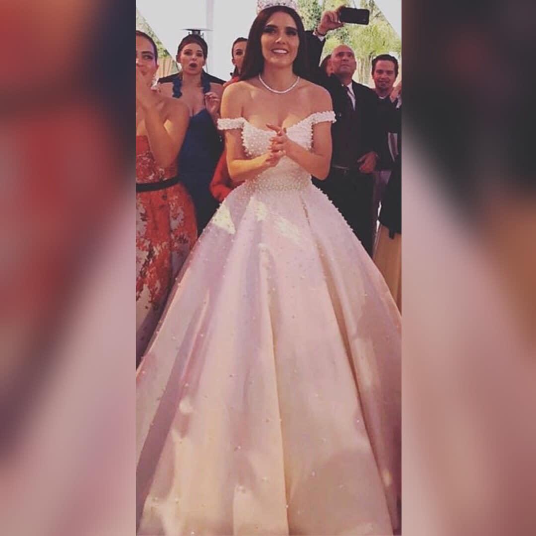 Se casó Marlene Favela y su boda fue de cuento de hadas