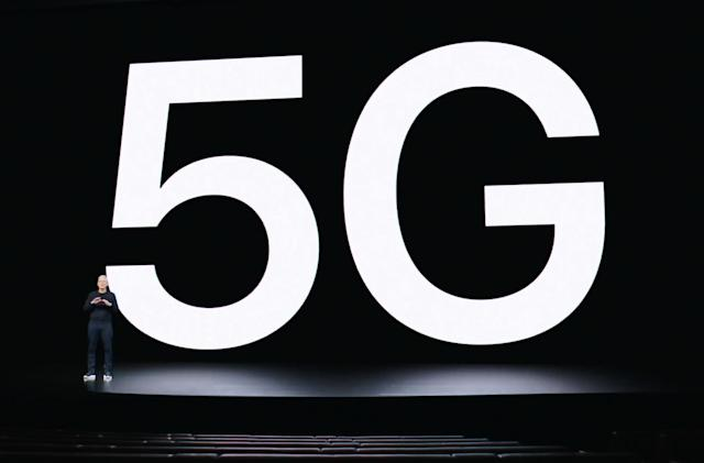 Verizon is rolling out its 'nationwide' 5G network with iPhone 12