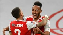 Aubameyang stuns City as Arsenal reach record 21st FA Cup final