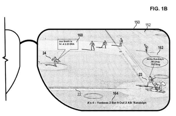 Microsoft patent application details head-mounted display used to augment live events