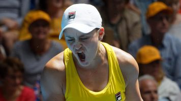 Barty party: Australian is WTA Player of the Year