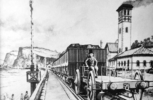 A brief history of when trains ran on air