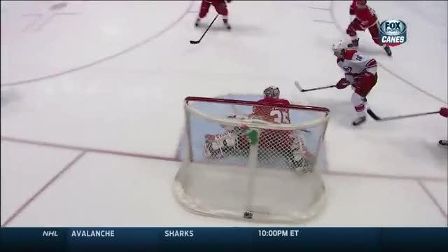 Elias Lindholm drags it back and rips it in