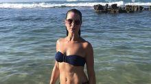 Brooke Shields, 54, stuns in bikini photo taken in 'another Blue Lagoon'