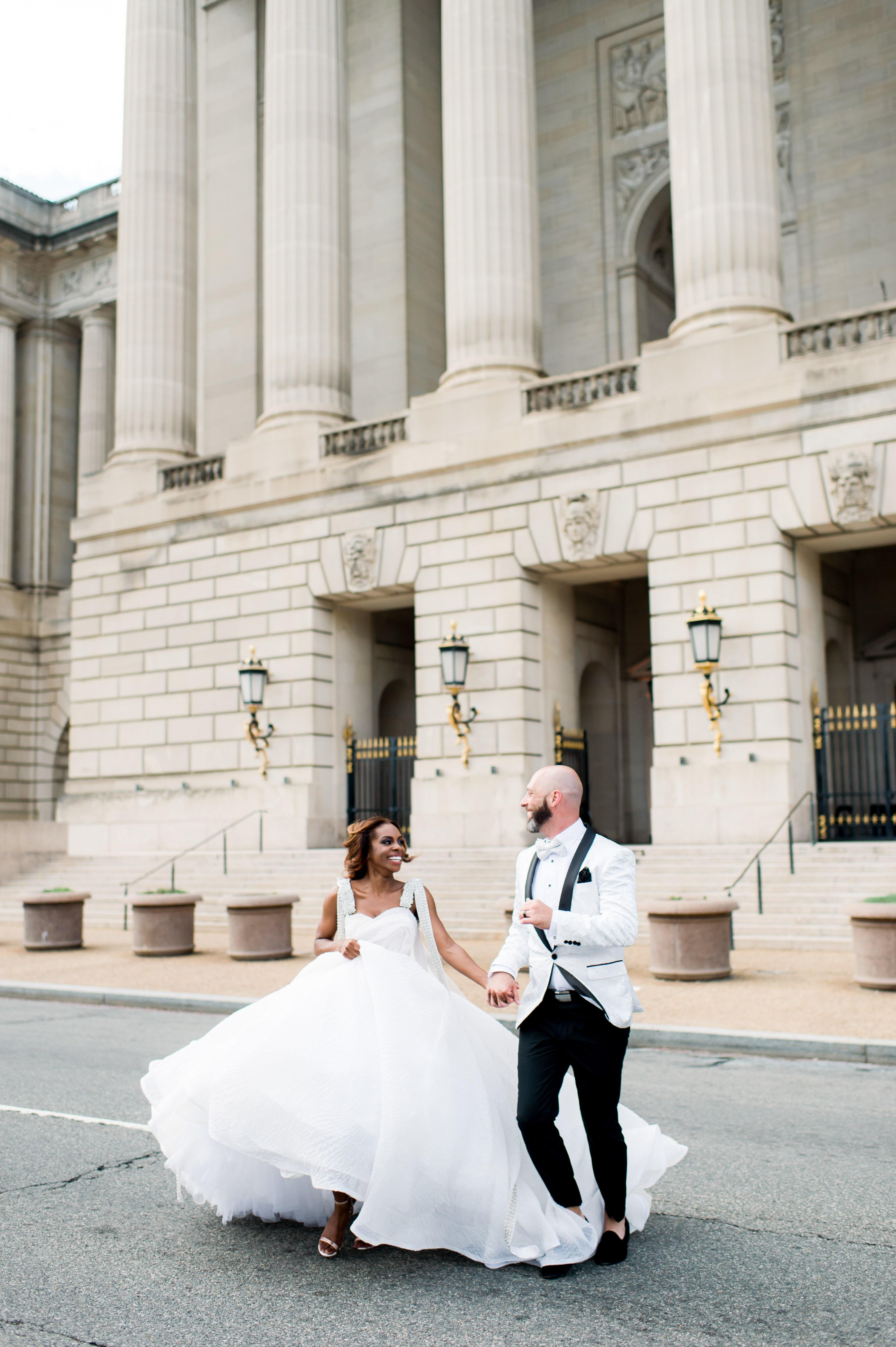 Real Housewives of Potomac Star Candiace Dillard\'s Glam D.C. Wedding