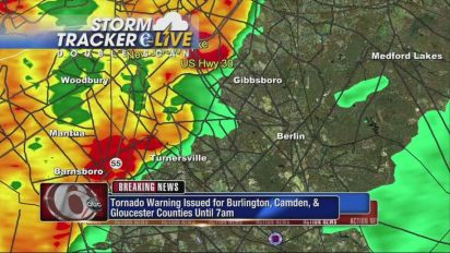 AccuWeather: Tornado warnings in central and northern Jersey
