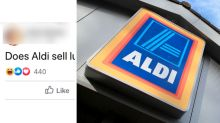 X-rated Aldi lube query sparks hysterical reactions from mums