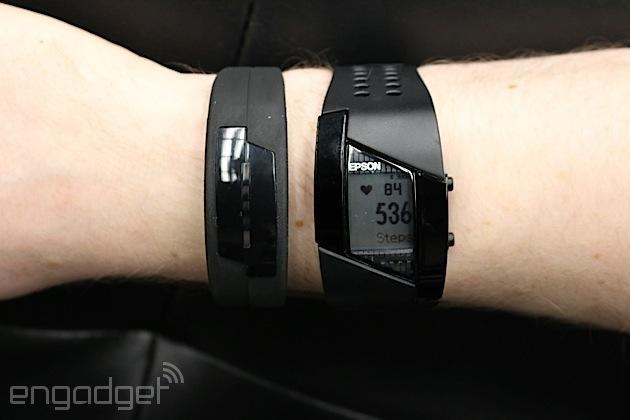 Epson's Pulsense fitness wearables can measure your pulses, of course (hands-on)