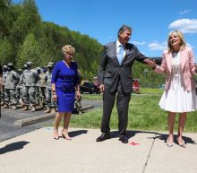 Jill Biden visits West Virginia with the most powerful man in America, and it's not her husband