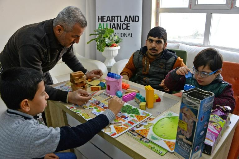 The Fakhri Dabbagh Centre in Mosul's east is treating 170 children with symptoms of Autism Spectrum Disorder and other special needs, offering help free of charge
