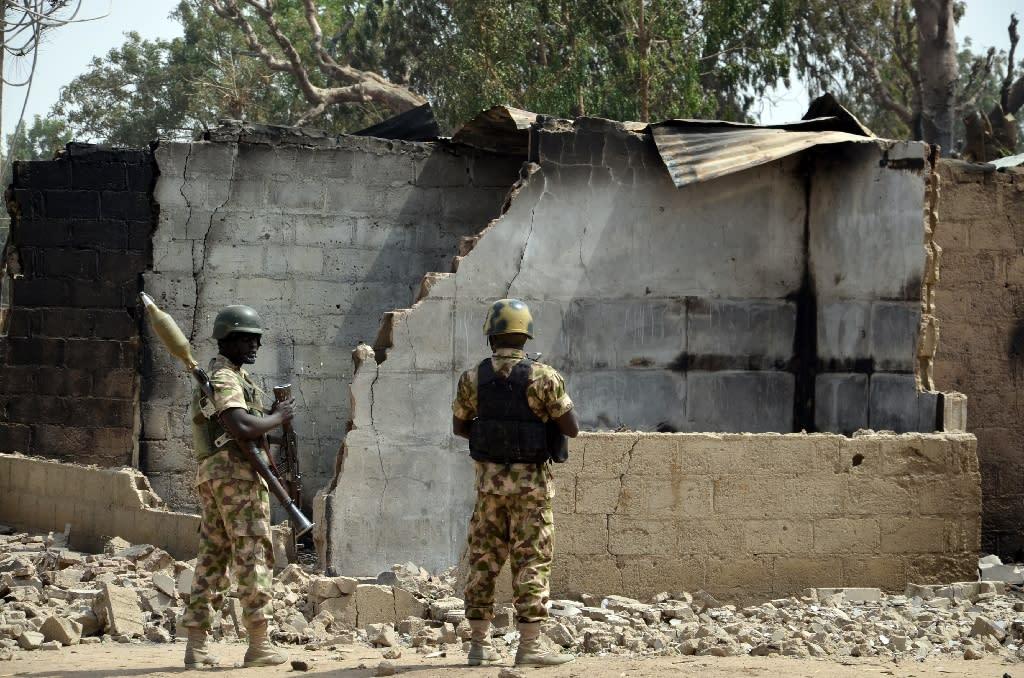 Boko Haram raid kills at least 3 Nigerian soldiers