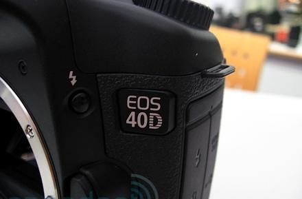 Hands-on with Canon's 40D DSLR