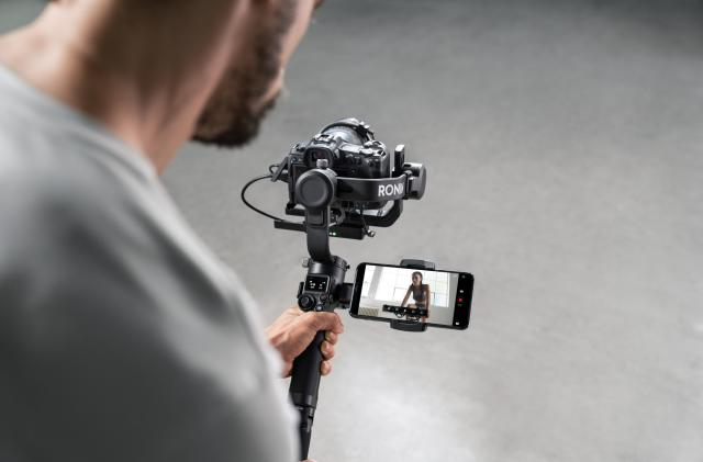 DJI's new Ronin gimbals flip into portrait mode with a single tap