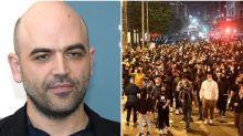 """Saviano: """"Disagio sociale dietro le manifestazioni di Napoli, aspettiamoci rivolte"""""""