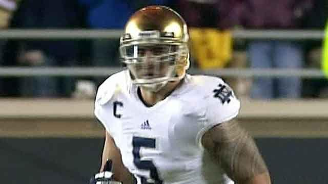 Notre Dame star claims he was victim of 'girlfriend' hoax