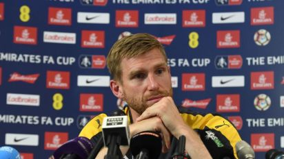 Per Mertesacker insists he is ready for FA Cup final despite making first Arsenal start in 13 months