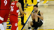 Steve Kerr says it's 'unlikely' that Klay Thompson will play this season