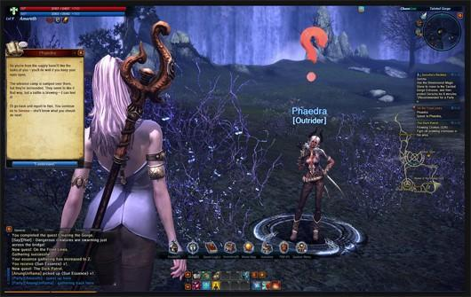 TERA play diary visits the Isle of Dawn and the Tainted Gorge