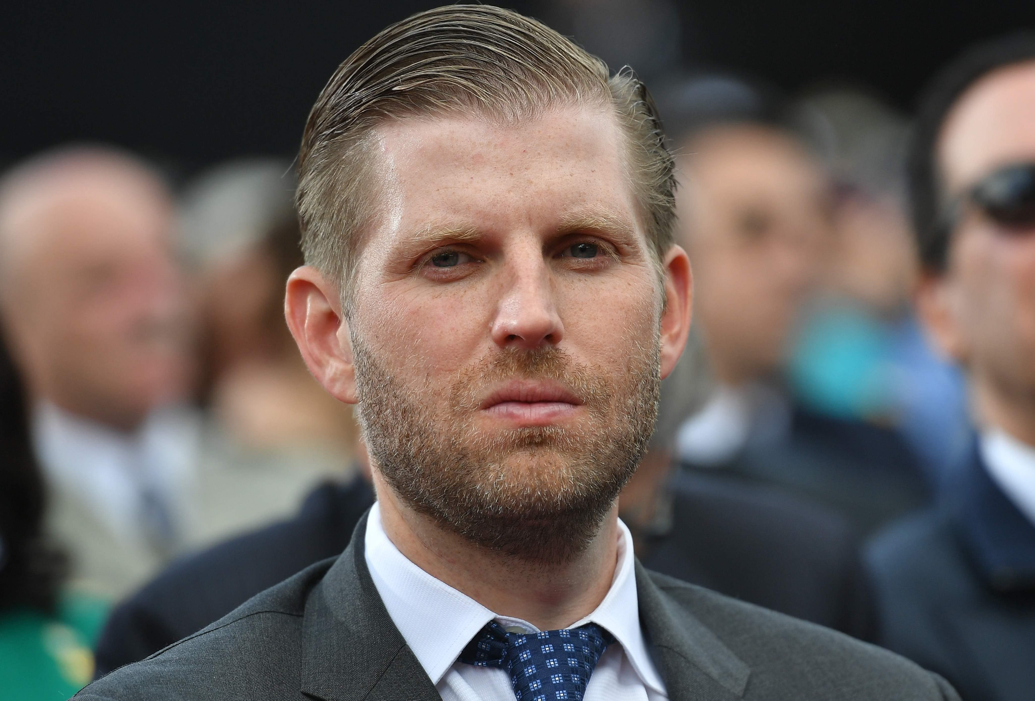 Eric Trump says an employee spit on him at an upscale Chicago cocktail bar