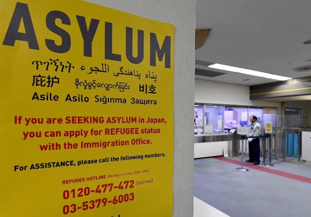 Just 20 people were granted asylum in Japan last year out of the nearly 20,000 who applied (AFP Photo/Toshifumi KITAMURA)