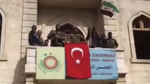 Flag of Turkey Raised in Afrin's City Center After Forces Enter Unchallenged