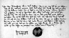 El documento de disputa que en la Edad Media exoneraba a quien lo cursaba en caso de asesinar a su contendiente