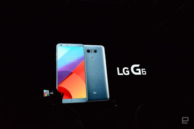 LG's G6 is official