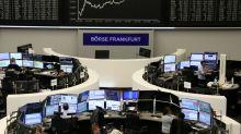 Índice pan-europeu encerra em alta em pregão de balanços corporativos mistos