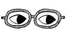 眼神代替說話