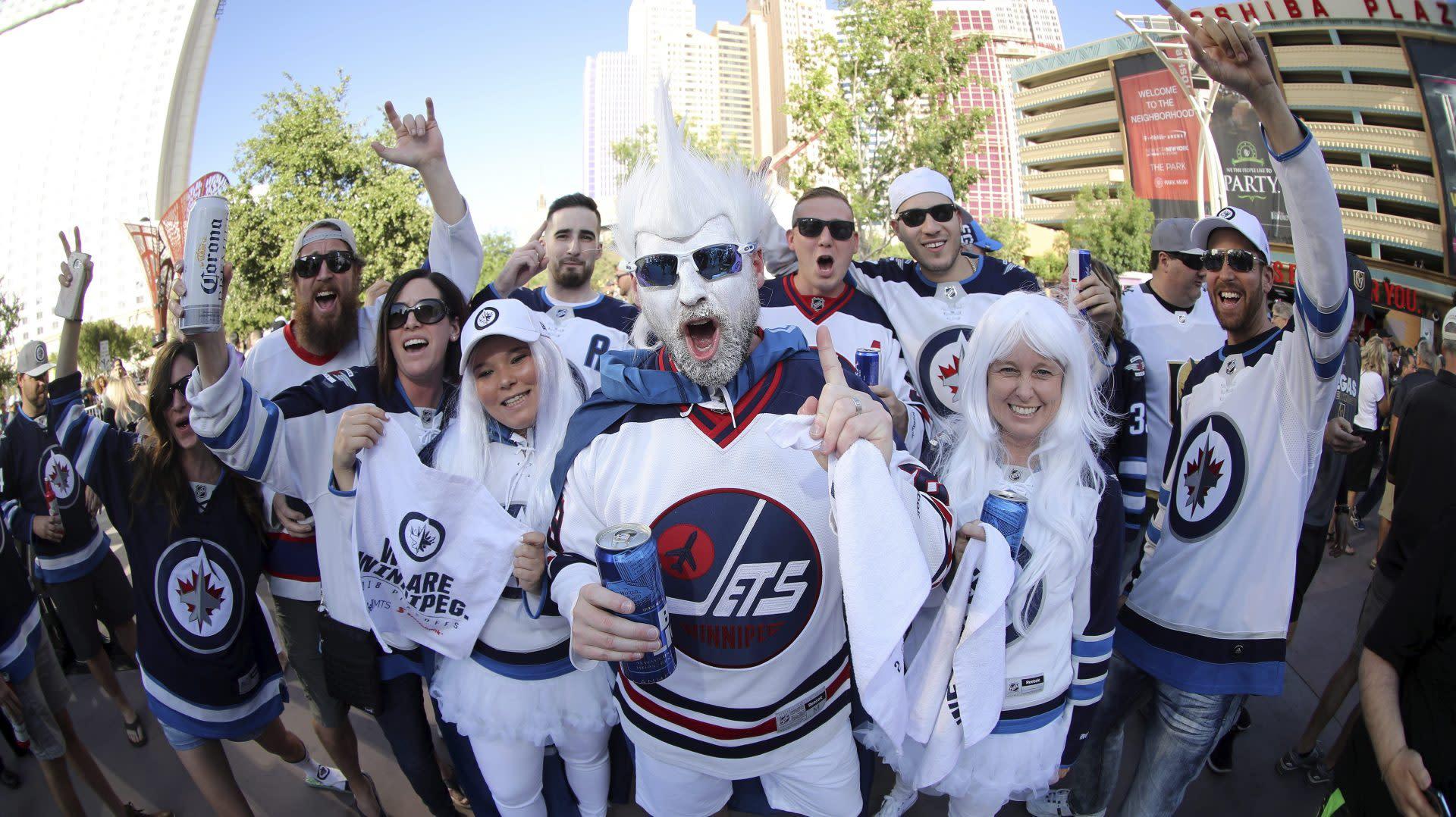 PHT Morning Skate: Jets to have fans for Game 1; Vegas hoping for split