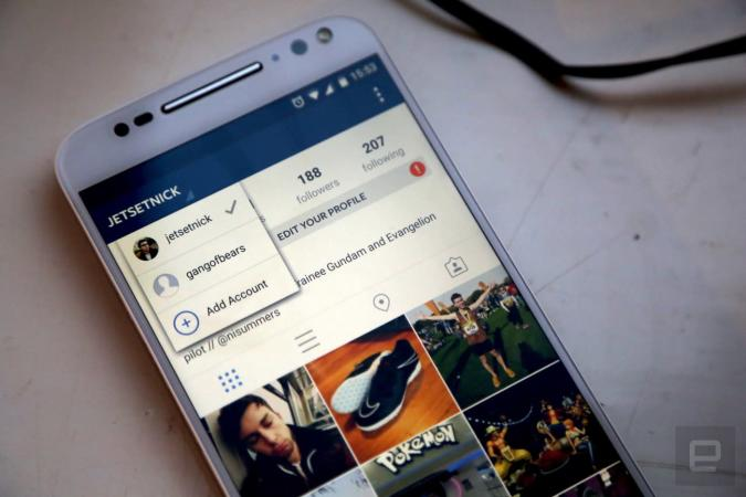 Instagram tests multiple account support on Android