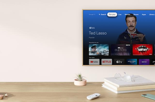 Apple TV+ is now available on Google TV