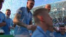 'WE ARE THE F****NNNNNN CHAMPIONS!' Man City enjoy title triumph