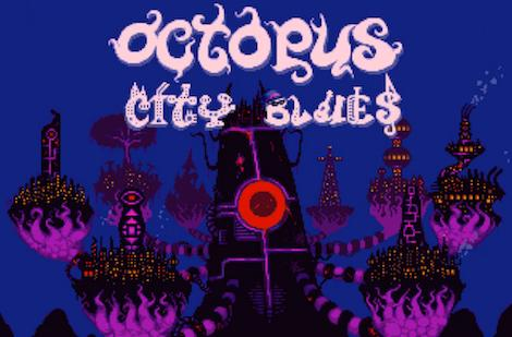 Octopus City Blues is funded, looks totally weird