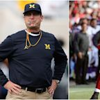 Jim Harbaugh responds to Brandon Jacobs, who says he'll get him fired