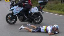 Cyclisme - T. des Flandres - Deux fractures à la main droite pour Julian Alaphilippe après sa chute au Tour des Flandres